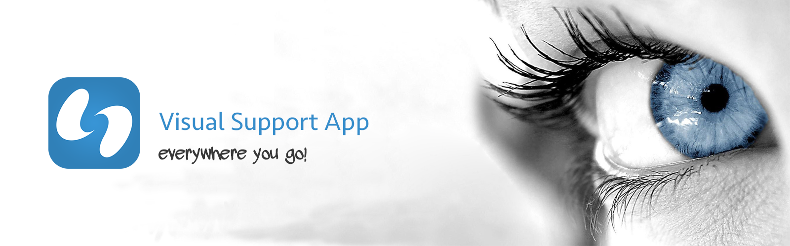 Visual Support App, everywhere you go